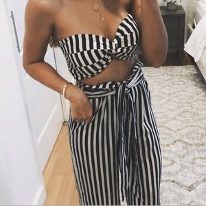 Other - Striped top and pants set